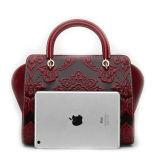 Handtas van de Beurs van het Leer van de Goede Kwaliteit van het Ontwerp van de luxe de Echte voor Vrouwen
