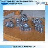 Pièces de usinage d'acier pour des machines