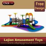 TUV enfants en plastique Équipement extérieur Aire de jeux pour le parc (X1225-4)