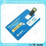 Lecteur flash USB par la carte de crédit de cadeau promotionnel fait sur commande d'impression (ZYF1232)