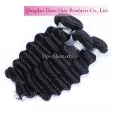 卸し売りインド人によって緩められるカールの人間のバージンの毛