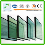 Vetro di vetro/vuoto di 5+12+5/6+12+6 di vetratura doppia Bassa-e