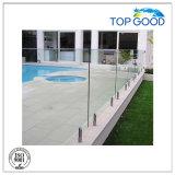 La precisión que echa los clips de cristal del acero inoxidable/las abrazaderas de cristal/la piscina de cristal Hardrail de cristal de la barandilla/acorta (80510)