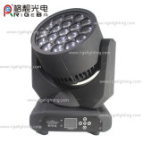 Luz principal móvil superventas de la viga LED de 19LEDs*15W RGBW4in1 Hawkeye con Osram LED