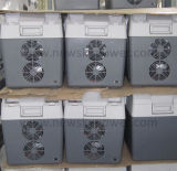 어업 시트는 태양 강화한 소형 냉장고를 상자에 넣는다