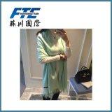 長い様式の女性100%年のカシミヤ織スカーフ