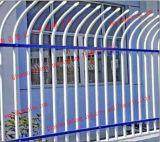 カスタマイズされた電流を通された庭の機密保護の錬鉄の塀の/Weldedの黒色火薬の上塗を施してある庭の鋼鉄に囲うこと