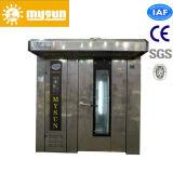 Forno rotativo elettrico della cremagliera del gas diesel dei cassetti di buona qualità 64 per il pane di cottura