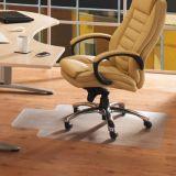 Haltbare Stuhl-Matte für niedrigen Stapel-Teppich, 46W x 60h, freier Raum