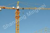 De nieuwe 5013-maximum Kraan van de Toren Topkit Qtz63. Lading: lading 6t/Jib 50m/Tip: 1.3t het Hoekstaal van Q345b