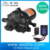 Gelijkstroom Mini Water Pump Seaflo 12V 3.0gpm 60psi Auto High Pressure Diaphragm Pump