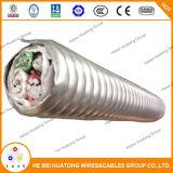 câble d'alimentation blindé de bande d'alliage de conducteur d'alliage d'aluminium de 600V 4AWG