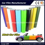 Véhicule lustré de couleurs de vinyle auto-adhésif enveloppant le film de vinyle