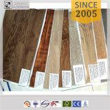Plancher épais en bois de PVC du regard 3mm de plancher en plastique d'intérieur d'usage