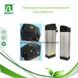 Het verticale 48V 6ah Pak van het Lithium of van de Batterij LiFePO4 voor de e-Fiets van de Macht, Ebike