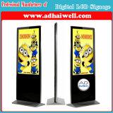 Androide de los jugadores de los anuncios de la pantalla del LCD de las pantallas del LCD de la señalización de Digitaces que toca la visualización del LCD