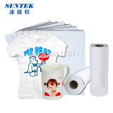 A3 A4 Roll Mug Tela do telefone T-Shirt de poliéster Sublimation Paper