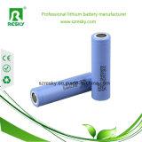 batería de ion de litio de 3.7V 2600mAh 18650 para Ebike