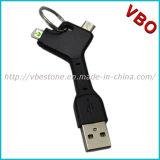 iPhone, Samsung를 위한 1개의 Keychain USB 비용을 부과 케이블에 대하여 참신 2