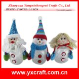 Tarro del almacenaje de la Navidad de la decoración de la Navidad (ZY14Y146-1-2-3)