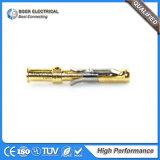 하이테크 항공 우주 부분 금에 의하여 도금되는 연결관 핀 1-66100-9