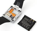 Bluetooth intelligentes androides Kamera WiFi des Uhr-Telefon-Doppelkern-3G Smartwatch