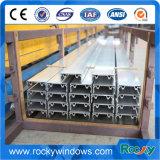 Profil en aluminium de piste de guichet de porte coulissante de type neuf