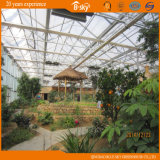 Стеклянное Greenhouse с PC Sheet Covered для Planting