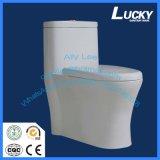 Tocador barato de las mercancías del cuarto de baño del Wc del tocador de Siphonic de la correa del surtidor de cerámica sanitario de China en venta