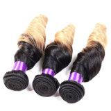 Бразильская объемная волна пачки Weave человеческих волос объемной волны T1b/Red Ombre волос девственницы норки 3 пачек 7A бразильские бразильские