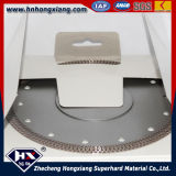 Ceramic, Granite, Marble를 위한 우수한 Quality 터보 Diamond Saw Blade