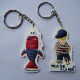 Quality 높은 Plastic Promotional 3D PVC Cartoon Keychain (KC-A001)
