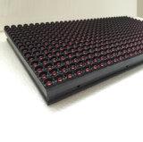 P10 singolo colore rosso esterno LED che fa pubblicità al segno commovente