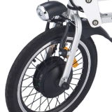 16-Inch con Shimano Inner 3 Speed Gear Folding Electric Bicycle
