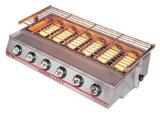 Luxuxc$sechs-brenner Klimaröster (Gas) Et-K23