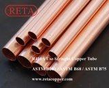 Tubulação dura do cobre da têmpera
