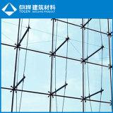 1 2 4 6 armas la araña para Glass muro cortina Racor (SS304, SS316)