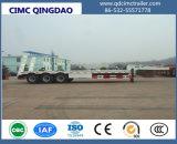45feet Aanhangwagen van de Vrachtwagen van de Lader van Lowbed Lowbody van de Aanhangwagen van het Dek van de daling de Lage Semi