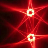 6PCS*15W RGBW 4in1 LED bewegliches Hauptträger-Licht