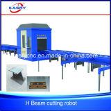 H Scherpe Machine van het Gat van het Staal van het Profiel van het Staal de Snijdende
