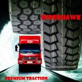 El neumático TBR de Superhawk cansa el neumático radial resistente del carro (11R22.5 HK859 315/80R22.5 295/80R22.5 12.00r20 12.00r24 HK808)