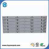 Placa de alumínio de alumínio de imersão para lâmpada LED