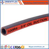 Tubulação de mangueira de borracha industrial SAE do petróleo hidráulico 100 R4