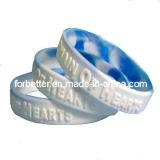 Wristband impresso del silicone
