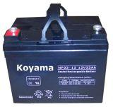 12V 33ah Leitungskabel saure AGM-Batterie für elektrischen Rollstuhl