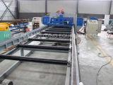 自動平鋼格子の溶接機