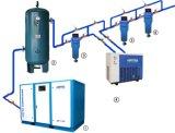 12m3/Min, 75kw, 409cfm, compressor de ar giratório silencioso do parafuso 100HP