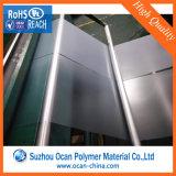 Feuille en plastique Anti-R3fléchissante claire de PVC, feuille Anti-R3fléchissante mince transparente rigide de PVC de bonne performance antistatique