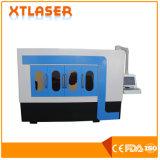 中国の円形の正方形の管レーザーの打抜き機500W 750W 1000Wの金属のパイプ・カッター機械ファイバーレーザー