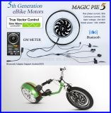 ¡Bluetooth programable! motor eléctrico de la bici de la empanada 5 mágicos de 250W 500W 1000W con la visualización disponible para para el androide/IOS